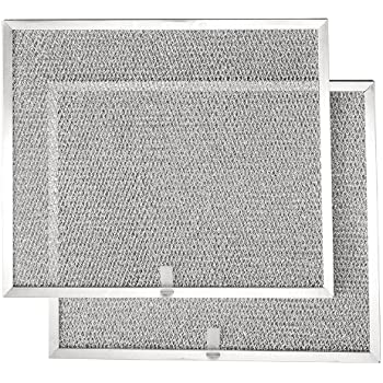 Broan BPS1FA36 Replacement Filters for 36-Inch QS1 and WS1 Range Hoods, Aluminum, 2-Pack
