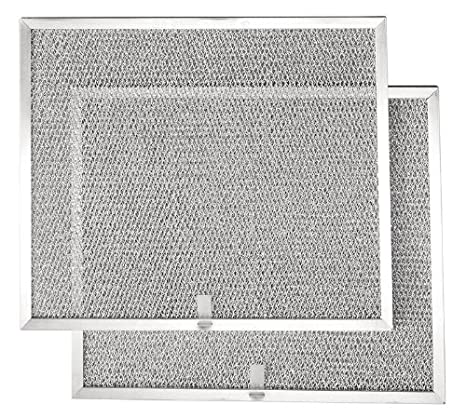 "2-Pack Broan BPS1FA30 Replacement Filters for QS1 and WS1 30/"" Range Hoods Aluminum"