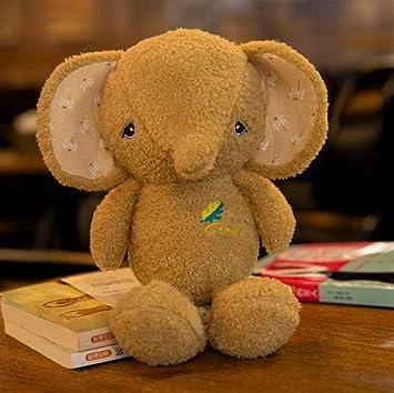 Weekendy Muñeca de Juguete cómoda y Suave Mini Lovely Soft Animals Elefante Elefante de Peluche Toy