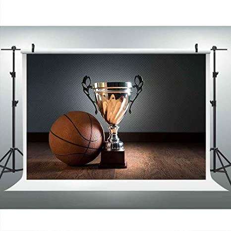sale retailer 3a5be b49ef LUCKSTY Basketball Trophy Backdrops for Photography 9x6FT Sports Winner  Champion Photo Backgrounds for Themed Party YouTube