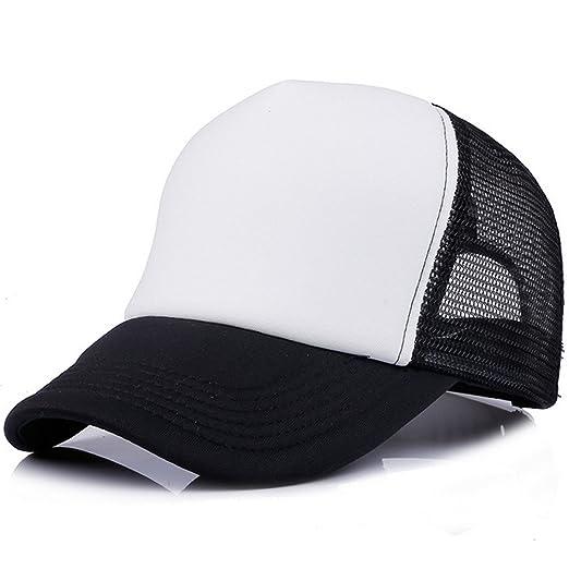 48b5fbbff0d50 Children Toddler Infant Hat Peaked Baseball Beret Kids Cap Hats By MEXUD  (Black White)