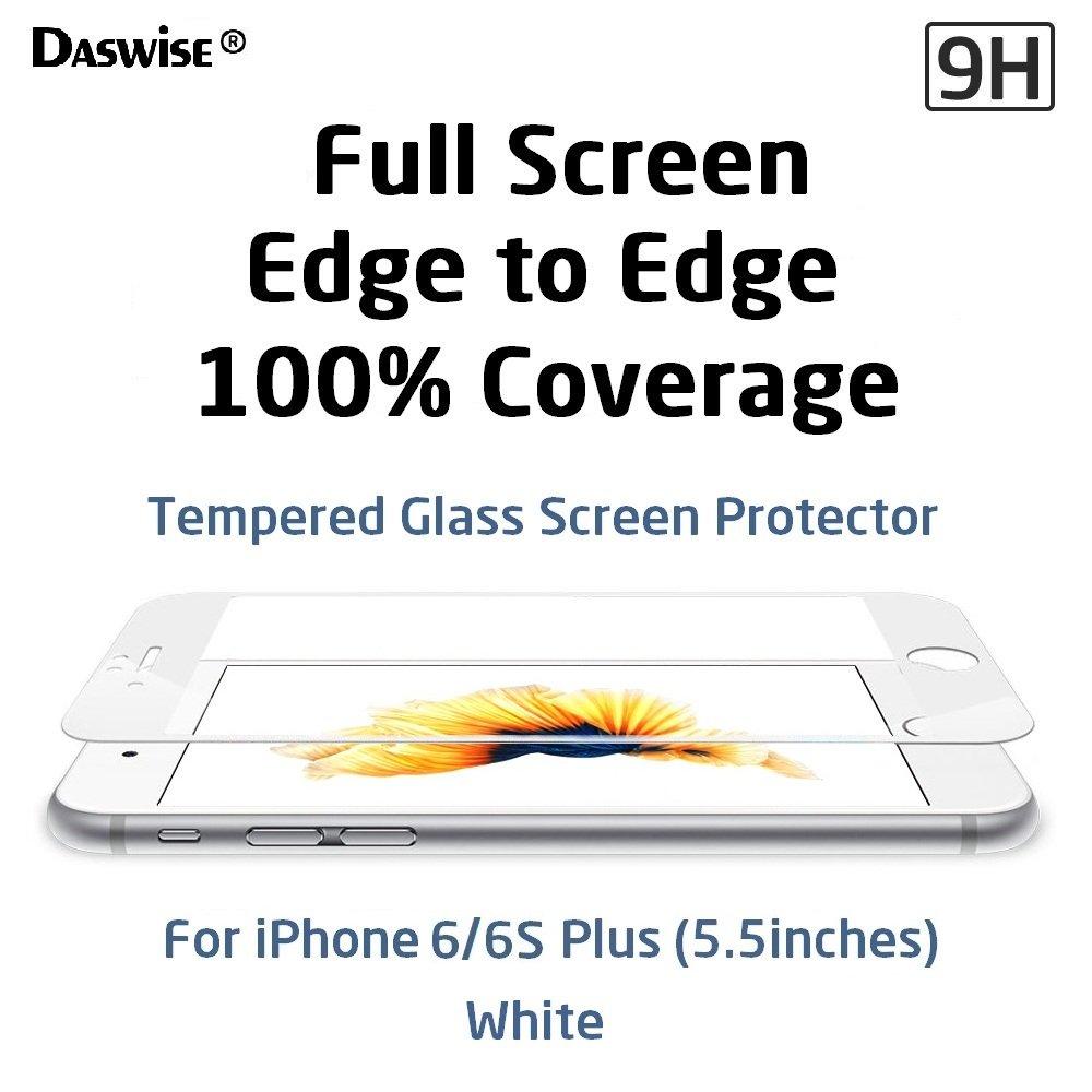 Amazon.com: iPhone 6s Plus, iPhone 6 Plus Screen Protector, Daswise ...