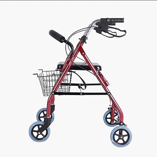 TF Andador para Ancianos, Rollator de Aluminio, De Aluminio ...