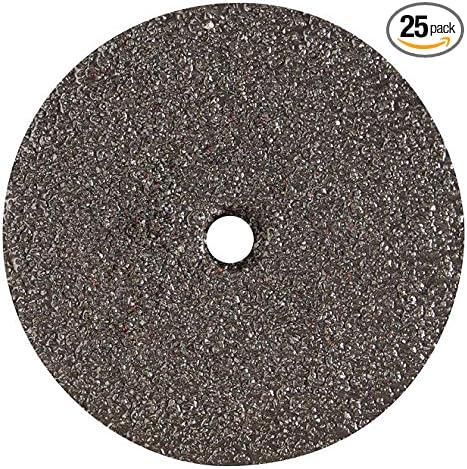 Gemtex 7 x 7//8 16Grit Resin Fibre Disc S-Type 25 Pack