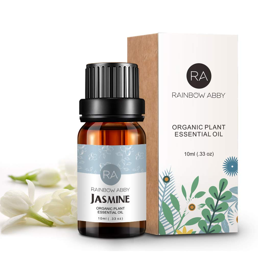 Jasmine Essential Oil 100% Pure Aromatherapy oil for Soaps, Candles, Massage, Skin Care, Perfumes - 10ml