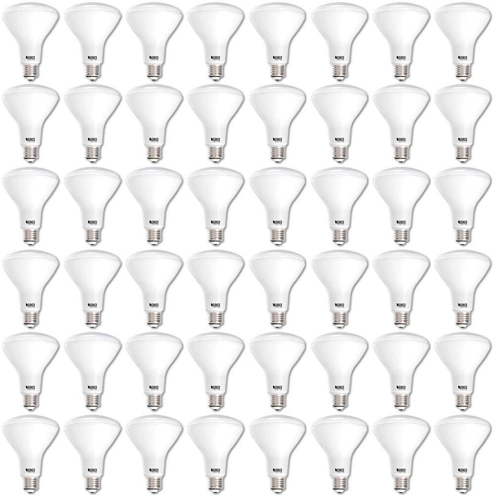 Sunco Lighting 48 Pack BR30 LED Bulb 11W=65W, 2700K Soft White, 850 LM, E26 Base, Dimmable, Indoor/Outdoor Flood Light - UL & Energy Star