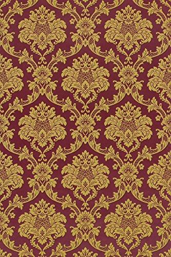 Tapete Rasch Trianon Neo Barock Satin 505368 rot