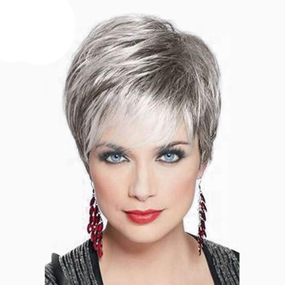 Amazon.com : Wigs, XEDUO Real Remy Human Short Sexy Hair Topper