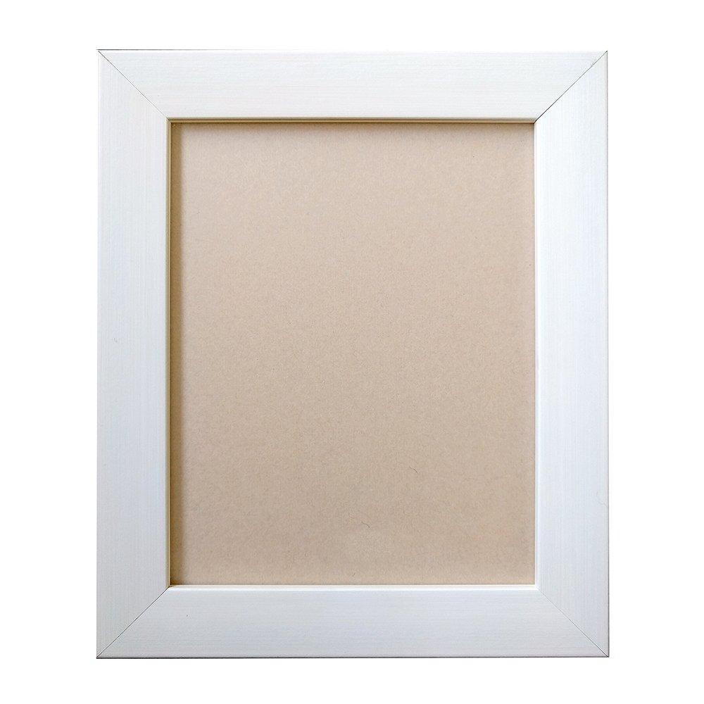 アルナ 油縁 ボックス 油彩 樹脂 額縁 「ダブルフレーム」 乳白 F6 61605 B077VMH67J F6|乳白 乳白 F6