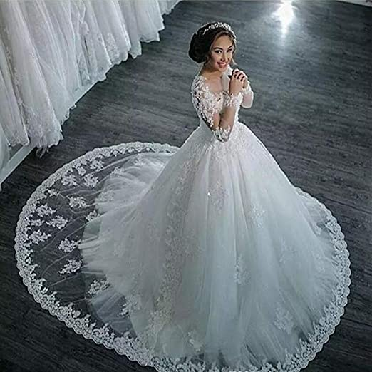JYL Vestido de Novia Vestido de Novia Vestido de Dama de Honor ...