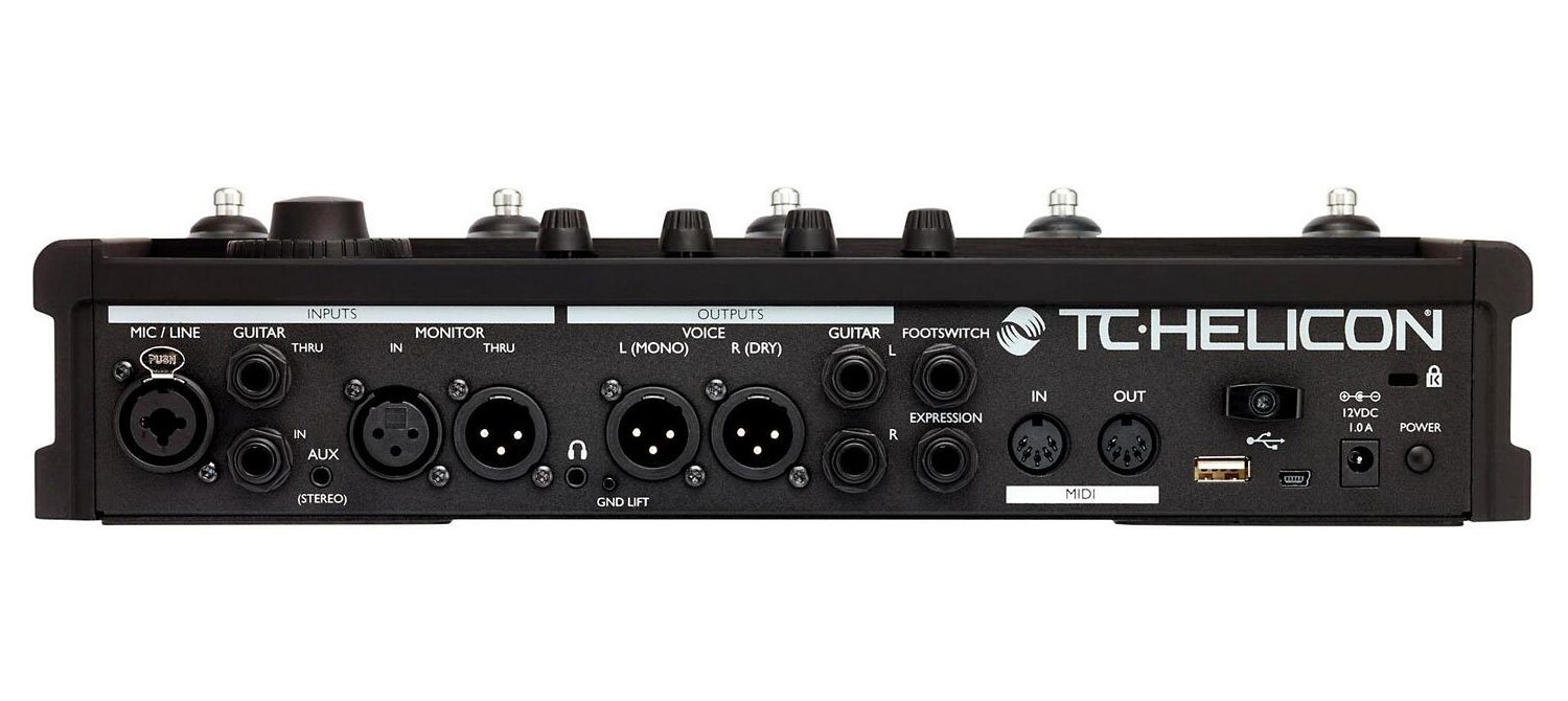 TC-Helicon VoiceLive 3 Extreme Vocal Effects Processor and Harmonizer with 1 Year Free Extended Warranty