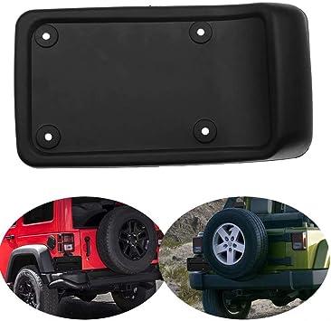 Car Black Rear License Plate Mount Bracket For Jeep Wrangler TJ 1997-2006
