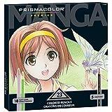 Prismacolor Premier Manga Colored Pencil Set, 23 Colored Manga Pencils (1774800)