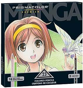 23 color set Prismacolor Premier Manga (comics) for colored pencil (japan import)