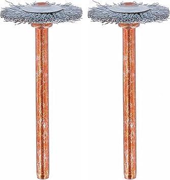 Dremel 530-02 Stainless Steel Brushes (2 Pack), 3/4