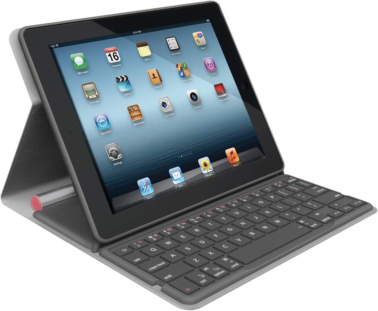 Logitech Folio Case - Funda con Teclado para Apple iPad 2/3 ...