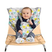 Alphabetz Portable Travel High Chair and Safety Seat, Geo Triangle