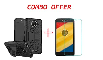 a89262a2e0fa Clorox Combo Pack of Motorola Moto C Plus Tempered  Amazon.in ...