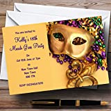 Mardi Gras Personalized Party Invitations