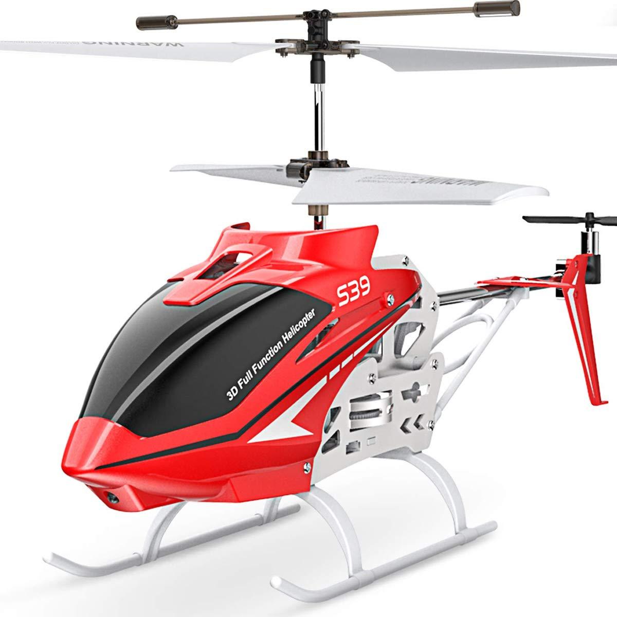 Syma S39 Helicópteros de Radiocontrol 3 canales Helicópteros Aviones Control giroscopio Estabilidad: Amazon.es: Juguetes y juegos