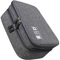 SOLUSTRE Cabos USB, acessórios eletrônicos portáteis, bolsa de armazenamento de viagem, aparelhos, cabos, USB, fones de…