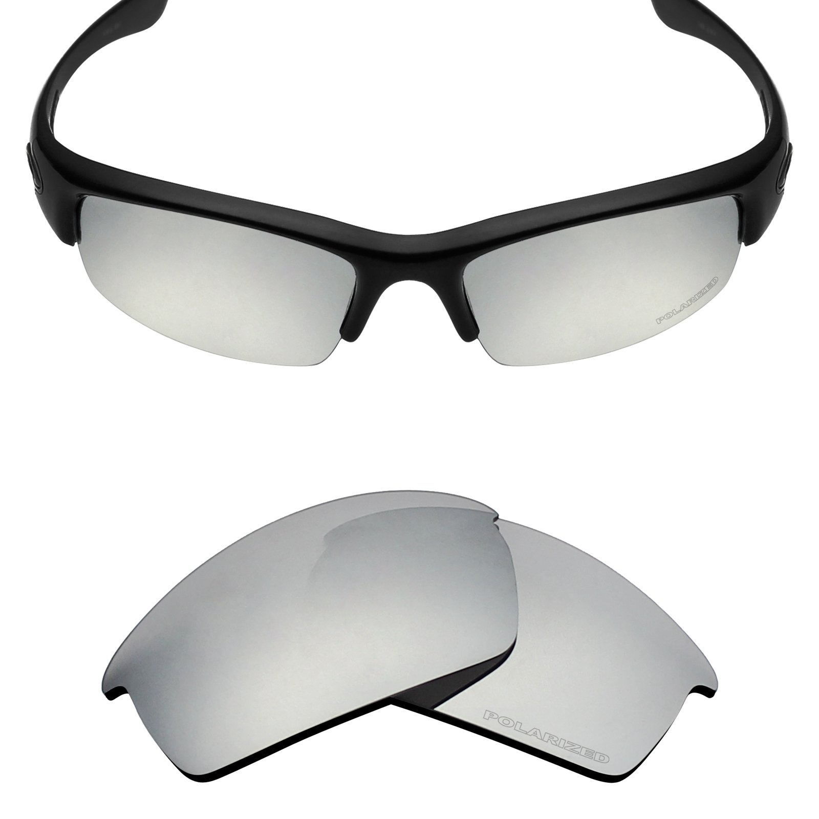 Mryok+ Polarized Replacement Lenses for Oakley Bottlecap - Silver Titanium by Mryok