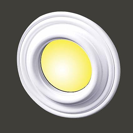 Recessed Spot Light Trim White Urethane Durable Foam 4 Id Recessed Light Fixture Trims Amazon Com