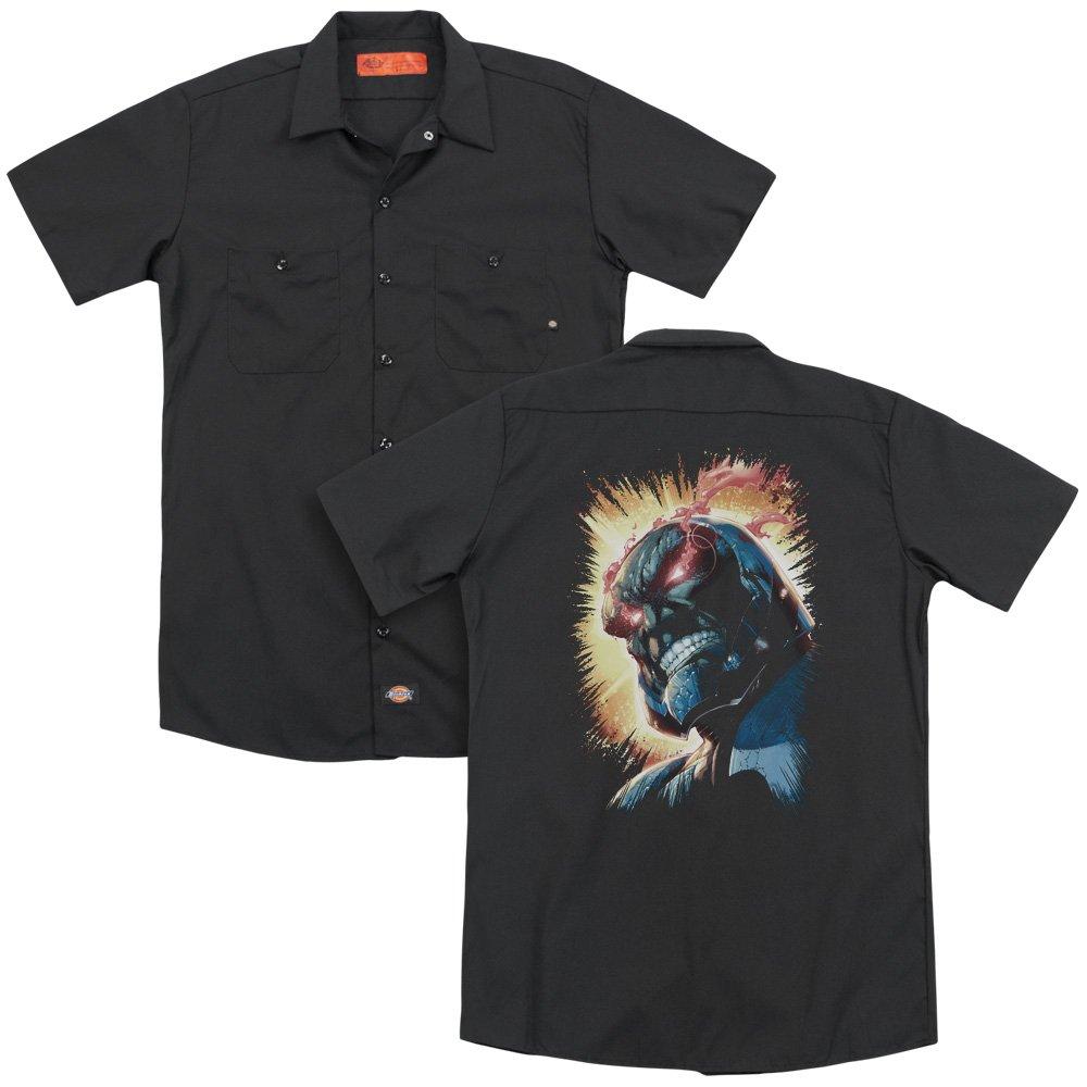 Jla Darkseid Is Adult Work Shirt