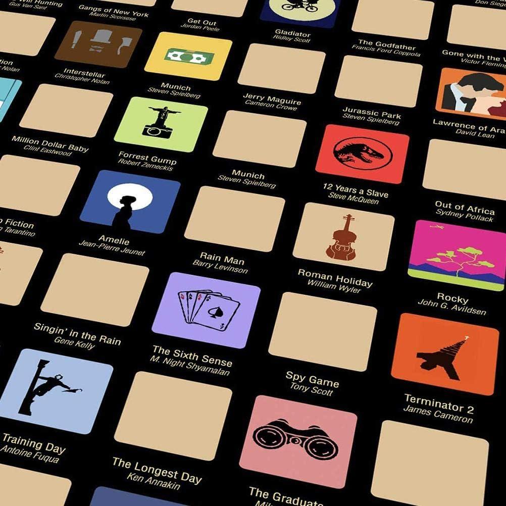 100 Movies krasposter