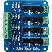 SainSmart 5V 4-Channel Solid State Relay Board for Arduino Uno Duemilanove MEGA2560 MEGA1280 ARM DSP PIC