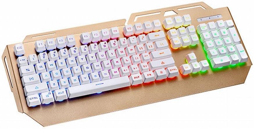 Mecánico sensación Flotante keycap RGB carácter Iluminado con ...