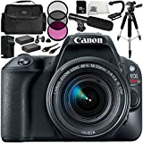 Canon EOS Rebel SL2 DSLR Camera with EF-S 18-55mm f/4-5.6 IS STM Lens 14 Accessory Bundle – Includes 32GB SD Memory Card + 2x Replacement Batteries + MORE - International Version (No Warranty)