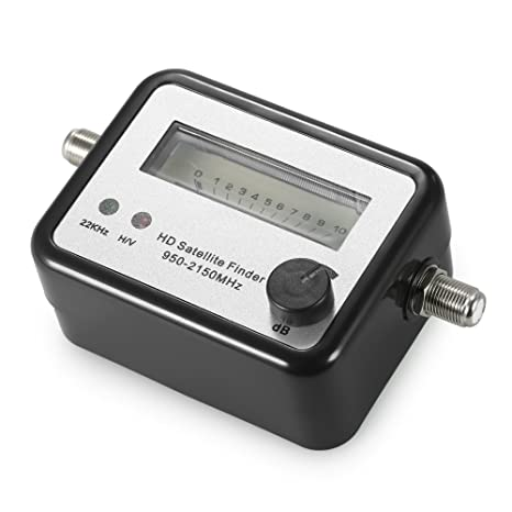 Satellite Signal Finder Satellite Finder Satellite Signal Meter Mini TV Antenna Satellite Signal Finder Meter with Compass