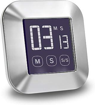 LCD écran Tactile compte à rebours cuisine minuterie