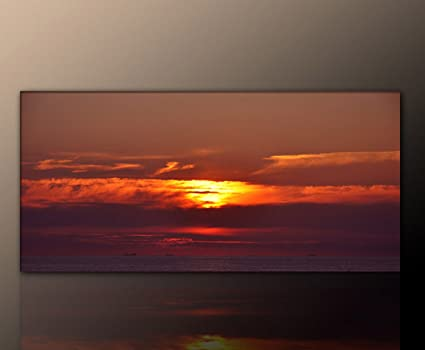 Amazon.de: Sonnenuntergang an der Ostsee Bilder Ostsee ...