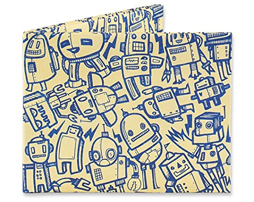 Mighty Wallet | Minimalist Tyvek Wallet | Front Pocket Wallet | Slim Wallet | All Of The Robots