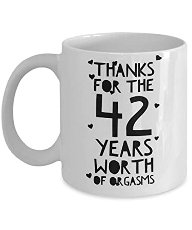 Amazon 42nd Wedding Anniversary Gifts For Him Thanks For All