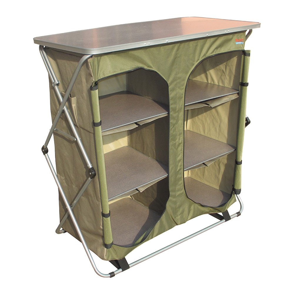 Bushtec Adventure Sierra Double Canvas Camp Cupboard, camping table or outfitter cupboard, table. by Bushtec Adventure (Image #1)