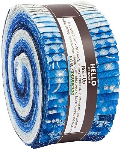 Winter's Grandeur 6 Evening Roll up 40 2.5-inch Strips Jelly Roll Robert Kaufman Fabrics RU-732-40 by Robert Kaufman