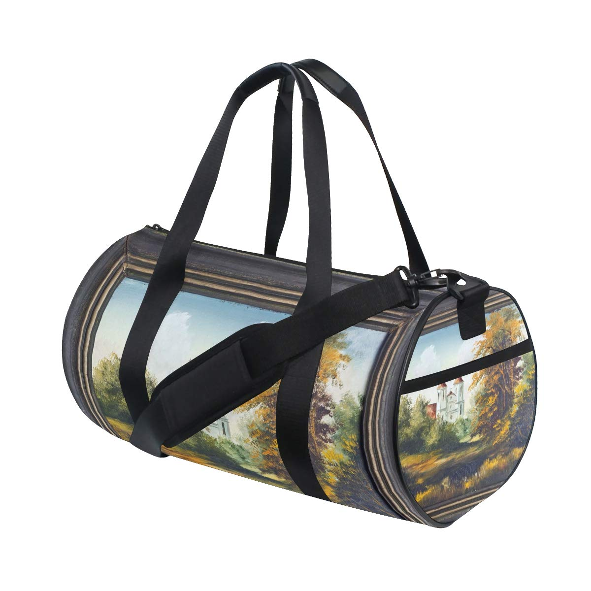 Sports Gym Bag Travel Duffel Bag with Pockets Luggage & Travel Gear Shoulder Strap Fitness Bag