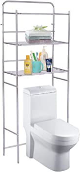 Costway 3-Tier Over The Toilet Space Saver Bathroom Storage Shelf Rack