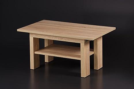 Mesa extensible 110/145 x 65 Salón Mesa sofá mesa mesa ampliable ...