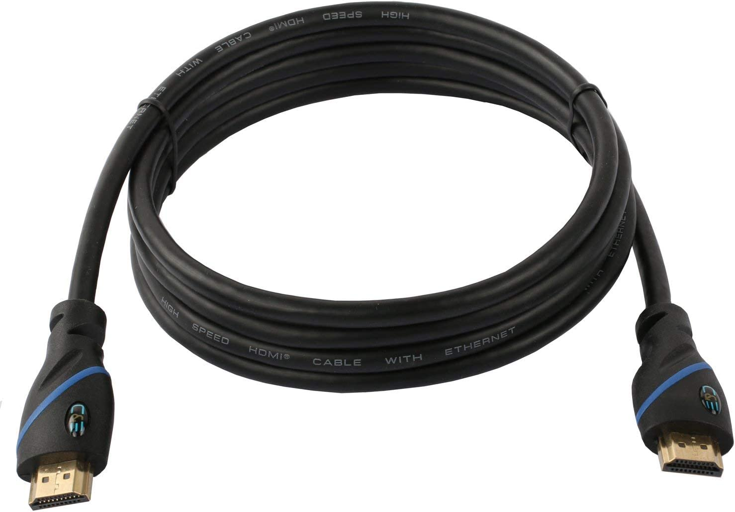 3D 12.2M 40ft Supports 4K 30Hz 40 Feet//12.2 Meters High Speed HDMI Cable Male to Female with Ethernet Black 1080p and Audio Return CNE571256
