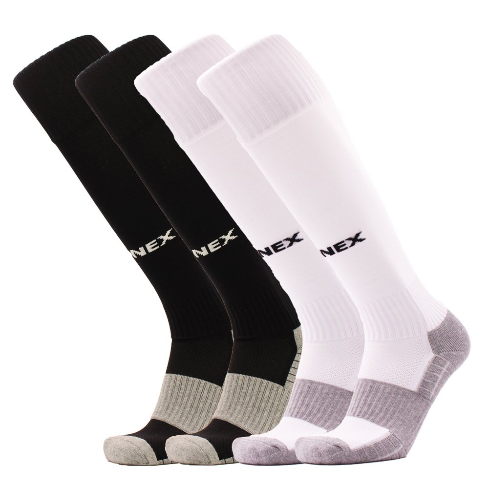 FONEX SOCKSHOSIERY メンズ B074Z3ZZ7Y 2 Pairs Black+white 2 Pairs Black+white