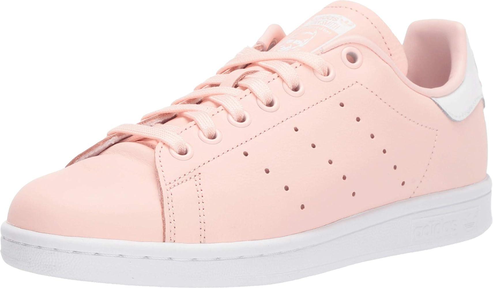 Amazon.com   adidas Women's Stan Smith W Low Shoes ICEPNK, FTWWHT ...