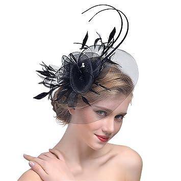 Fascinator Womens Fascinator Headpiece Tea Party Hat Church Derby