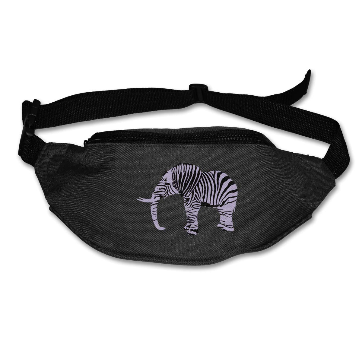 Elephant Zebra Sport Waist Packs Fanny Pack Adjustable For Run