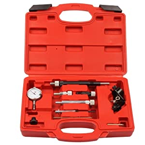 Compatible for Diesel Fuel Pump Timing Indicator Tool Set for Alfa Romeo, Audi, BMW, Fiat, Ford, Isuzu, Iveco, Lancia, Land Rover, Mazda, Mitsubishi, Nissan, Renault, Rover, and VW