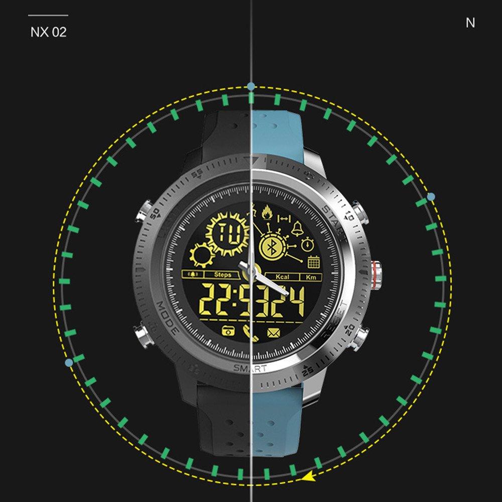 Amazon.com: Star_wuvi - Reloj inteligente deportivo con ...