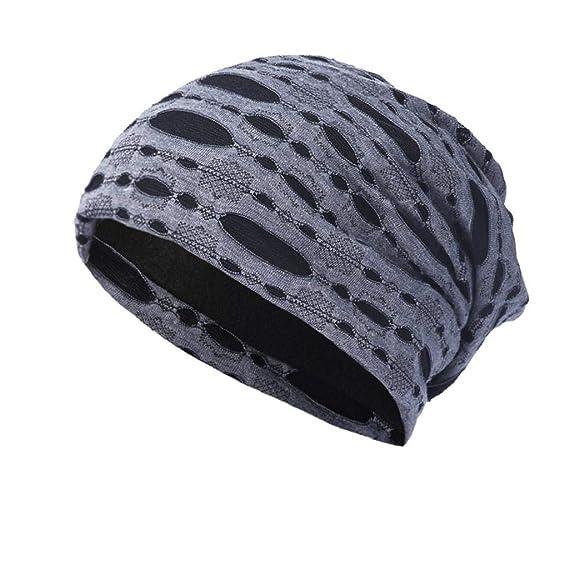 QUICKLYLY Gorros Tejidos Unisex Hombres Mujeres Invierno Cálido Sombrero de  Punto Al Aire Libre de 9a944dd12de